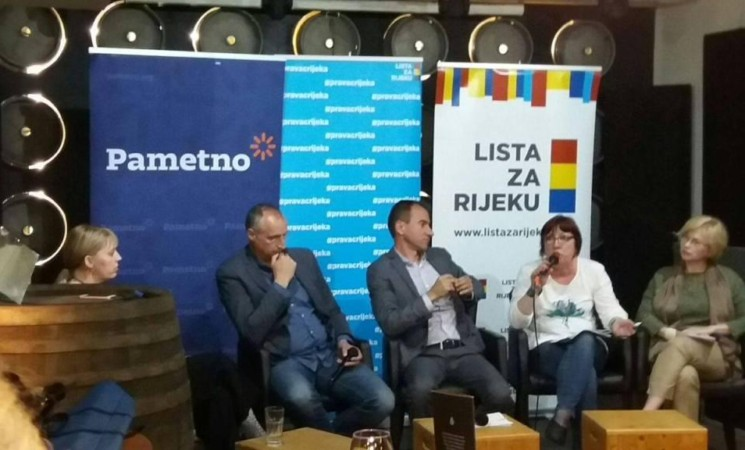Lista za Rijeku i Pametno predstavili program: Za pametan, poduzetan, obrazovan i otvoren grad