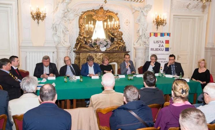 Lista za Rijeku organizirala okrugli stol 'Vizualna dvojezičnost u Rijeci – Il bilinguismo visivo a Fiume'