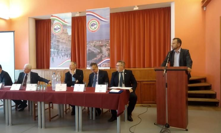 Švorinić na međunarodnoj konferenciji Prijatelja Rijeke u Mađarskoj