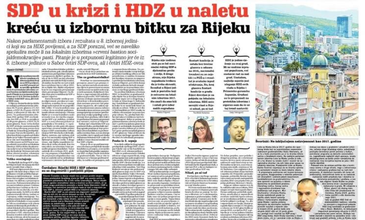 Švorinić: Lista za Rijeku svoj program i obećanja realizira, a gradska politika mora biti proaktivnija!
