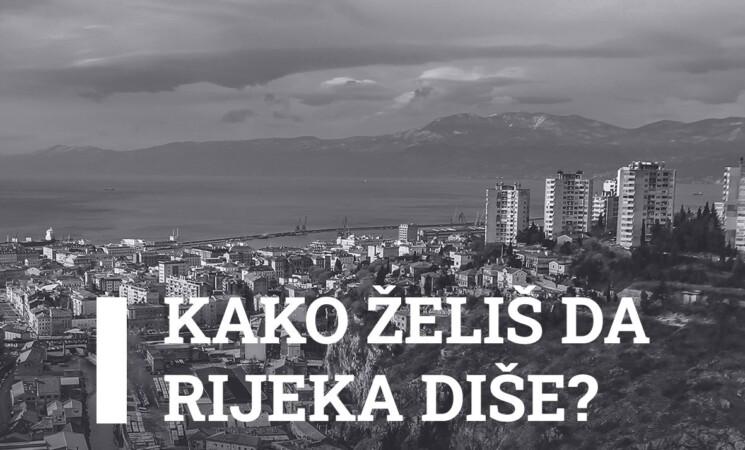 Tvoje mišljenje je bitno: Kako želiš da Rijeka diše?
